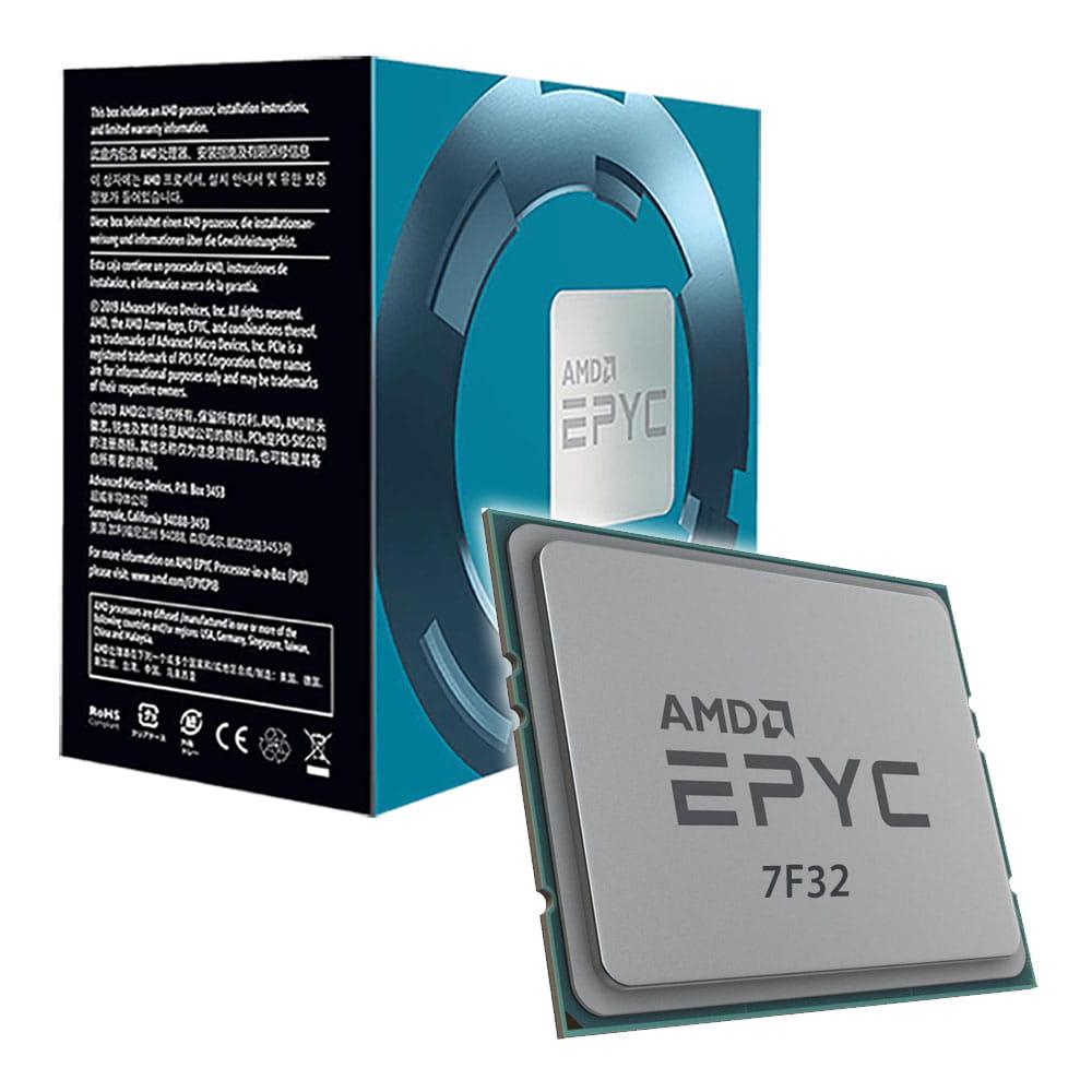 Amd EPYC 7F32 3.7Ghz. Socket SP3.