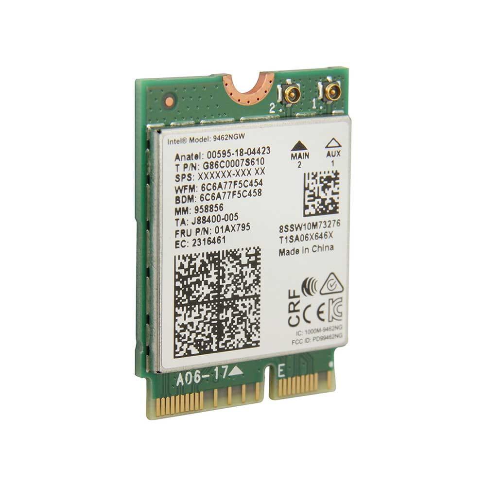 Intel WLAN-AC 9462 433Mb/s M.2. BULK