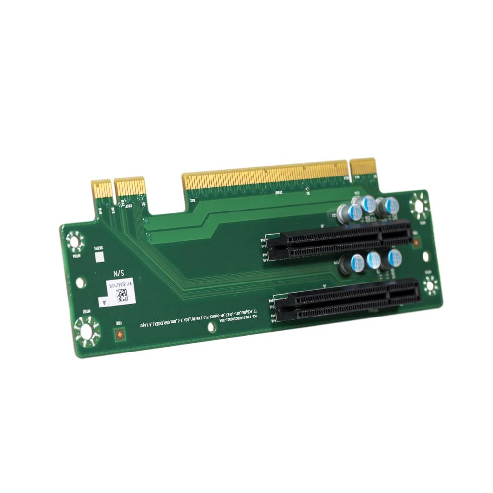 PCIEX8+PCIEX8 Riser Card para Mitac MX1-10FEP-D