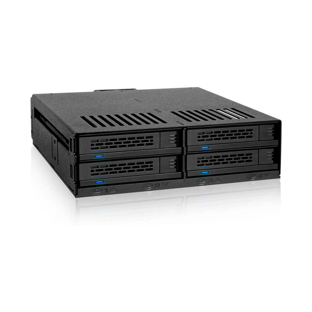 """Icy Dock MB324SP-B para 4x 2.5"""" SATA/SAS"""