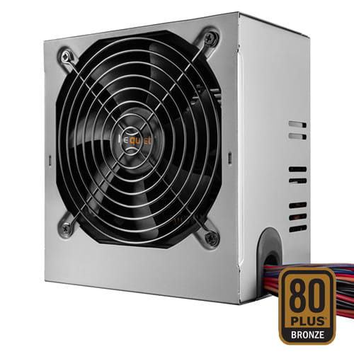 be quiet! System Power B9 Bulk 600W 80plus Bronze