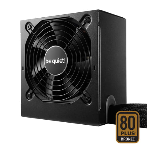 be quiet! System Power 9 Retail 600W 80plus Bronze