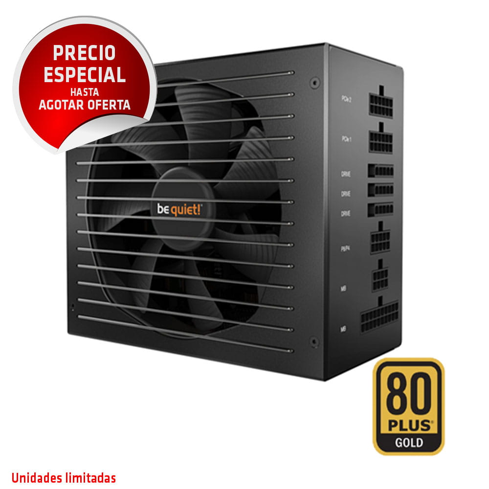 be quiet!  Straight Power E11-850W 80Plus Gold - REFURBISHED