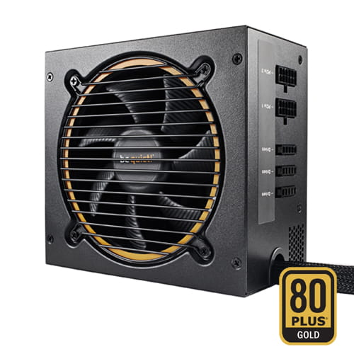 be quiet!  Pure Power 11-CM 500W 80Plus Gold