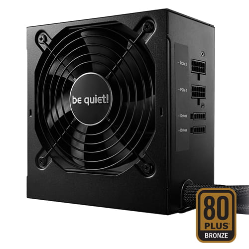 be quiet! System Power 9 CM Retail 500W 80plus Bronze