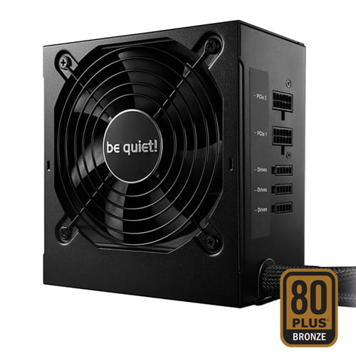 be quiet! System Power 9 CM Retail 600W 80plus Bronze