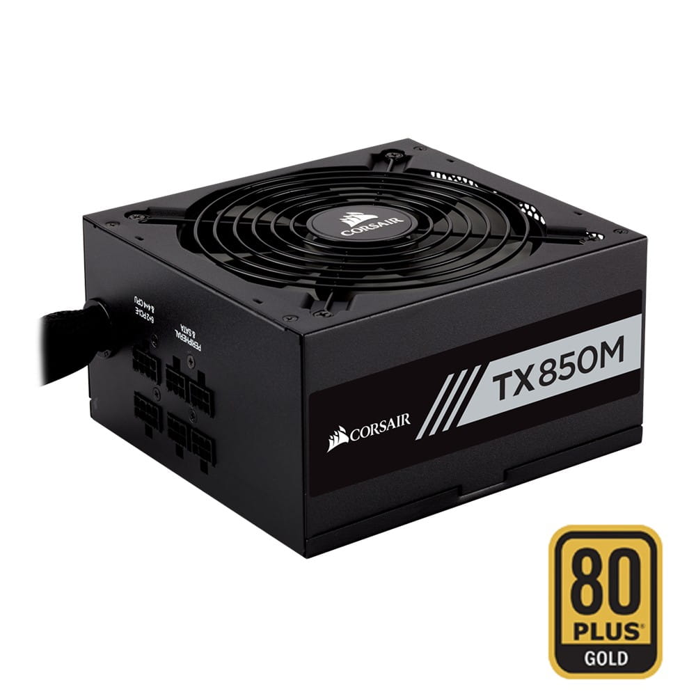 Corsair TX-M Series 850W Semi-Modular 80Plus Gold