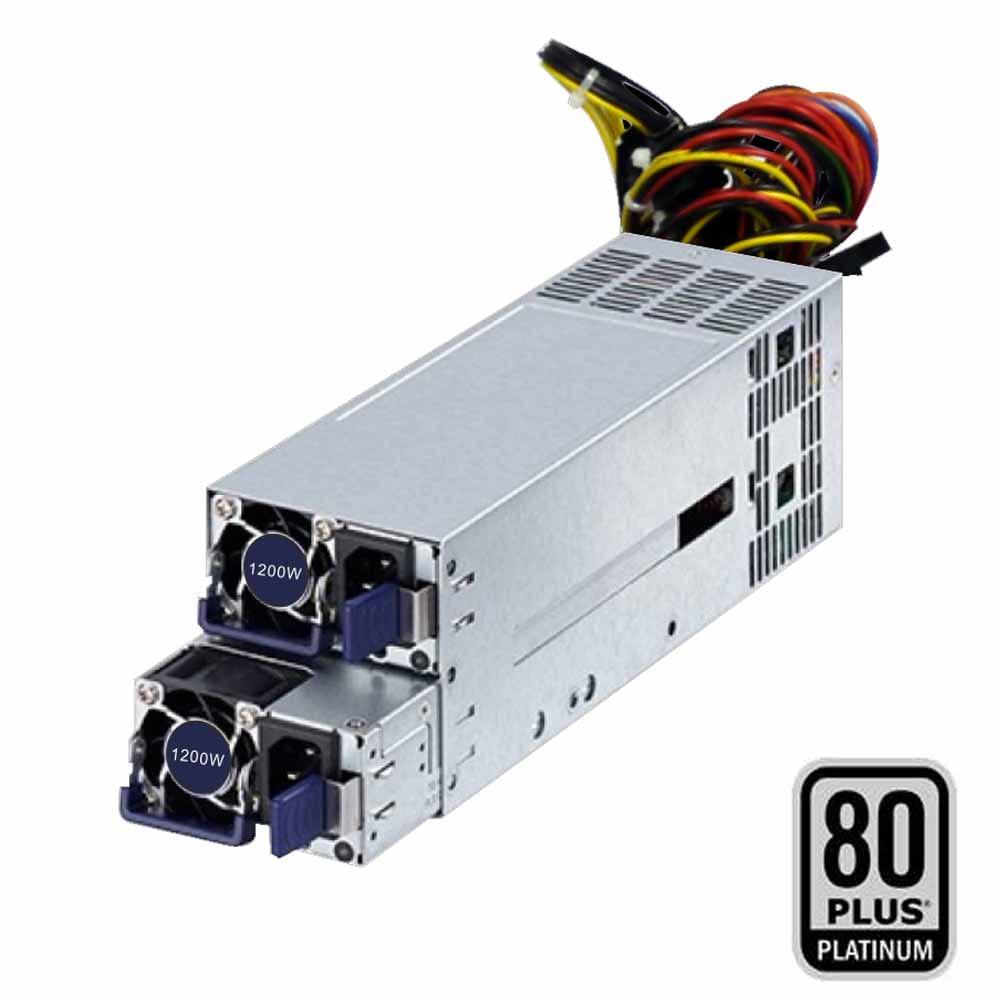 F.A para RACK 2U/3U 1200W CRPS Redundante 80Plus Platinum