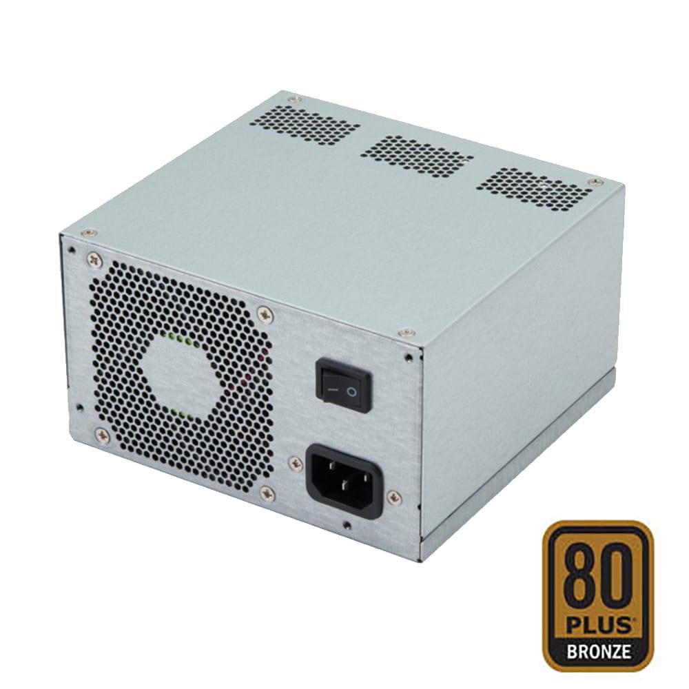 Fuente alimentación ATX 600W 80Plus Bronze ventilación trasera