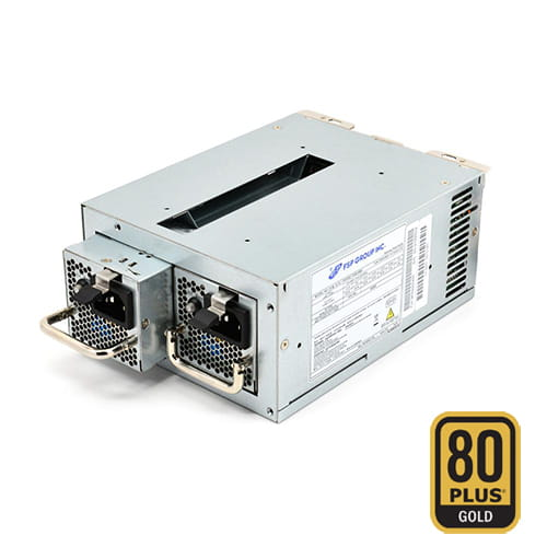 F.A. FSP TWINS 500W Miniredundante IPC ATX 80 Plus Gold