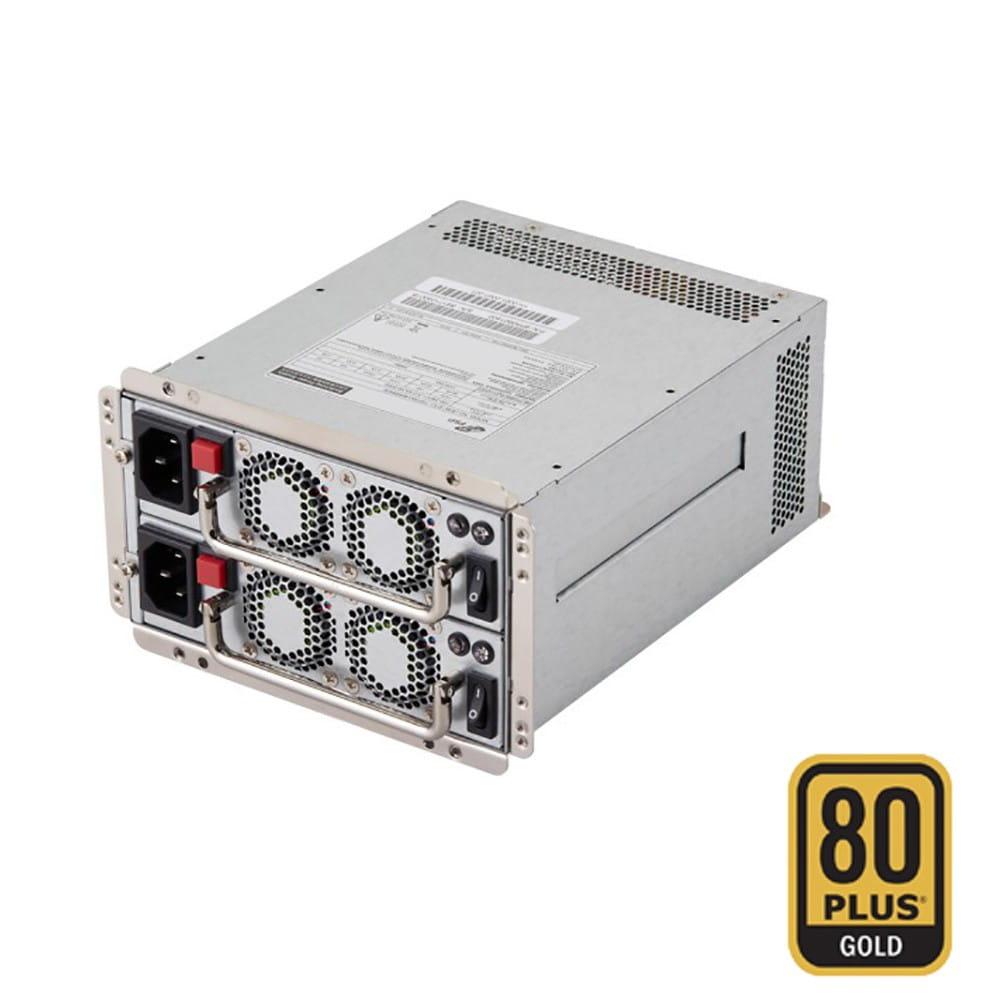 F.A. para RACK 4U 500W Redundante 80Plus Gold