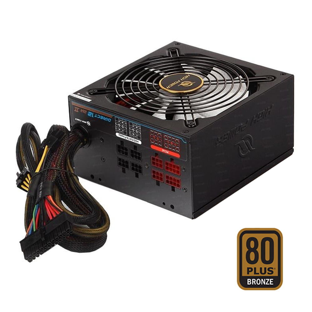 High Power Direct12-II 850W 80Plus Bronze modular