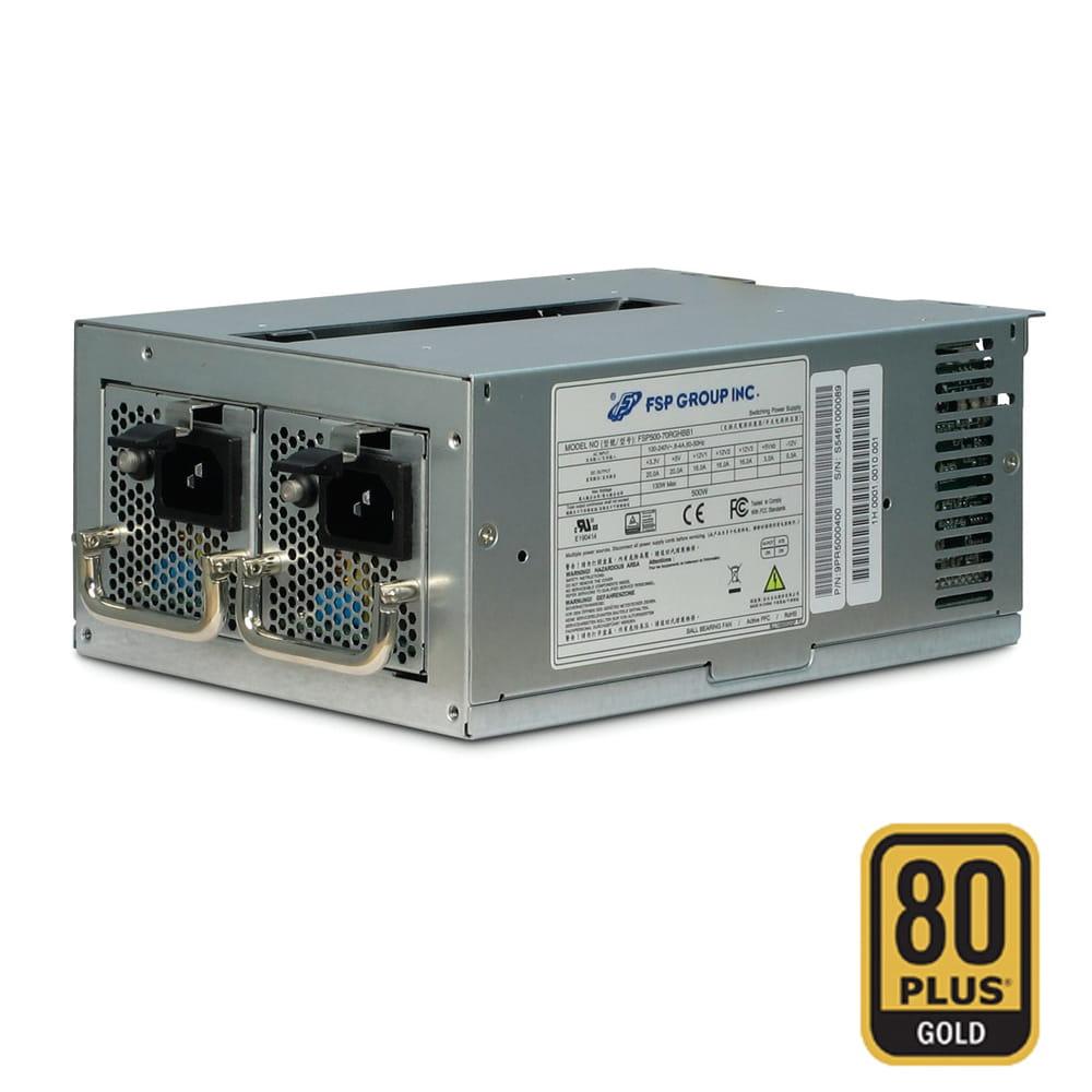 F.A. FSP TWINS 700W Miniredundante IPC ATX 80 Plus Gold