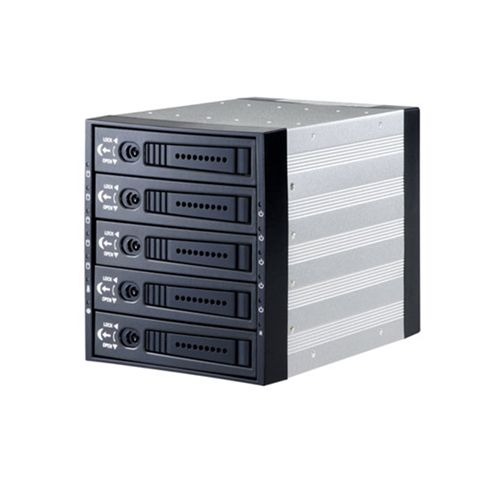 Caja Expansion SATA/SAS 3x5.25 para 5x3.5 HDD (Industrial)
