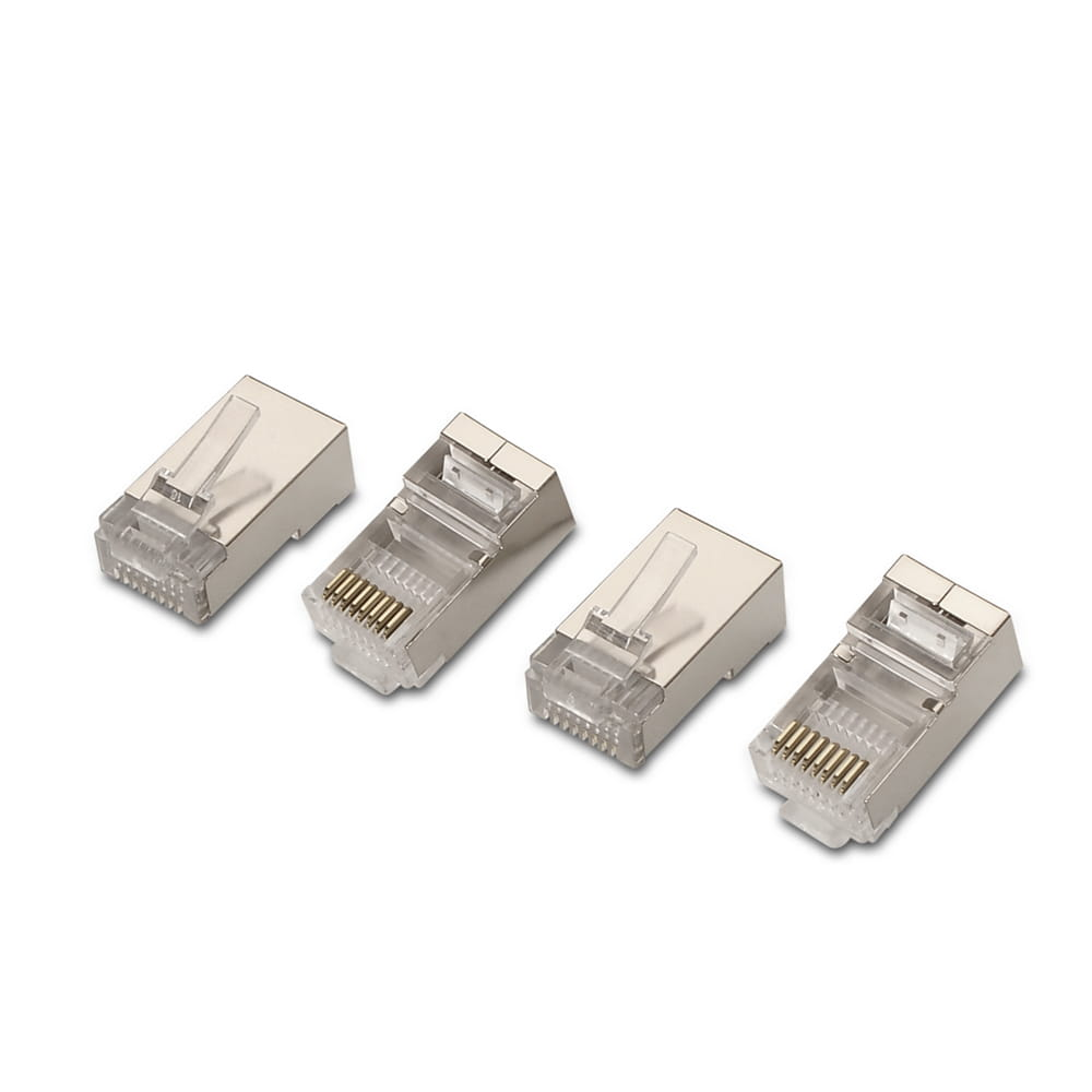 Conector RJ45 8 hilos FTP Cat.5e AWG24 (10 Uds)