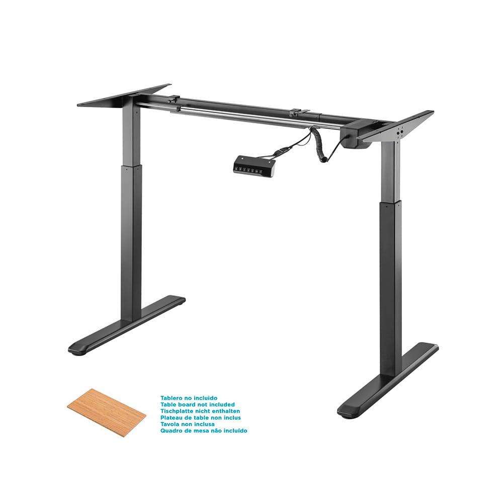 Bastidor de escritorio motorizado, altura ajustable con panel de control, 80KG