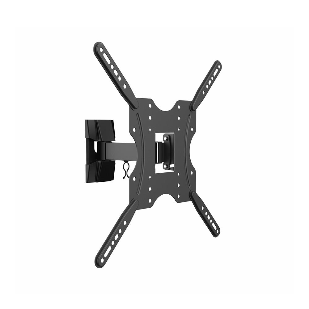 Aisens Soporte ECO Giratorio, Inclinable Para Monitor/TV 30kg (2 Pivotes) de 32-55, Negro