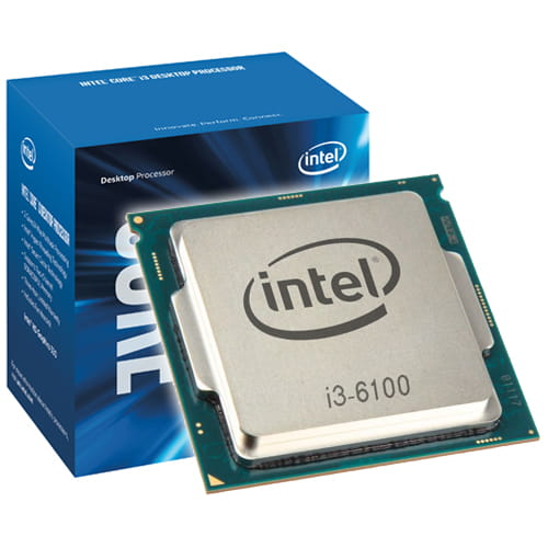 CPU Intel SKYLAKE-S I3-6100TE 2.7GHz , TPD 35W