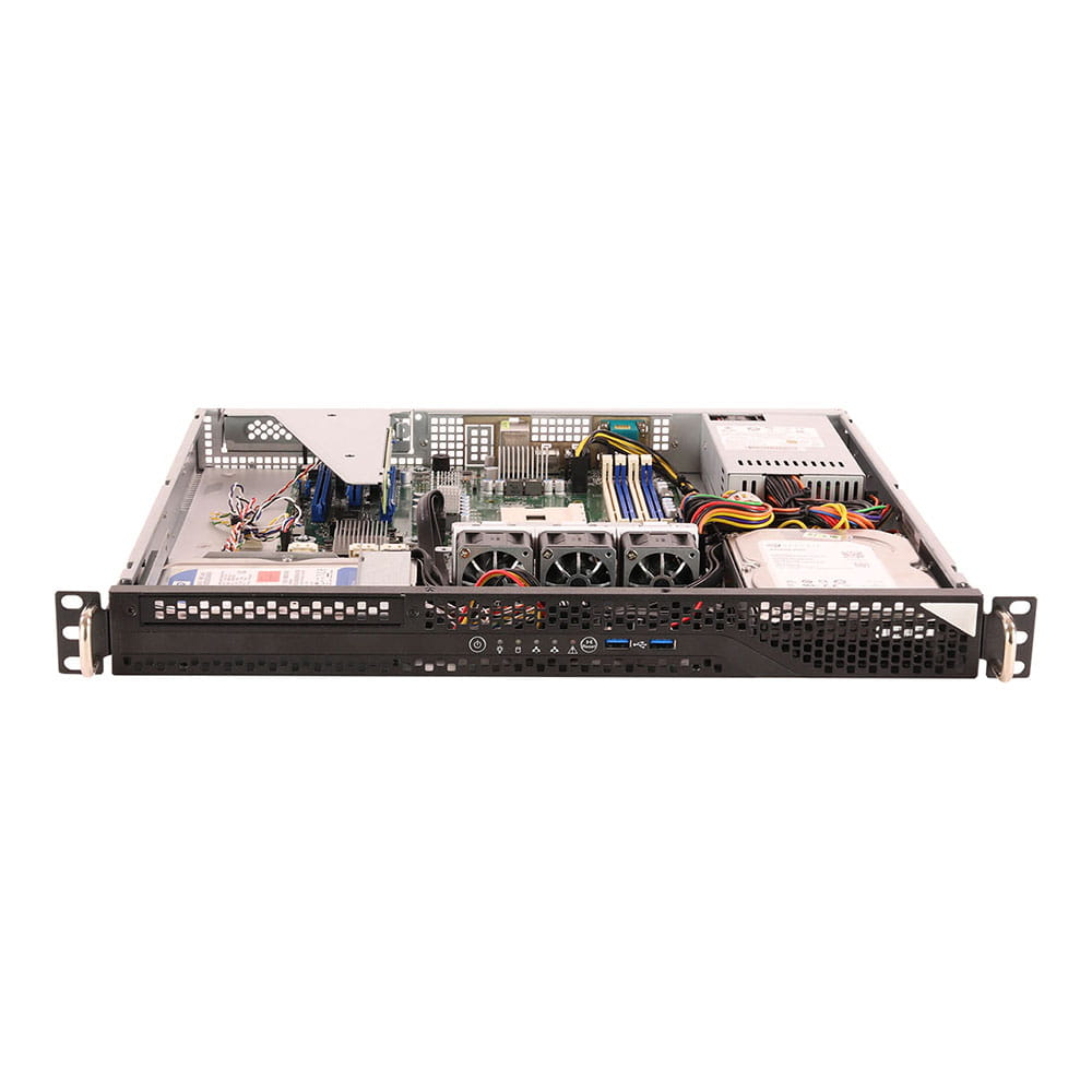 Asrock Rack 1U2LW-X470 BB - AM4 - 315W