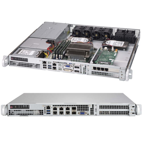 Supermicro Barebone SuperServer SYS-1018D-FRN8T