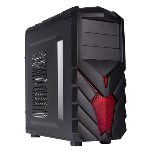 BL PC Gamer caja Negra PG1137 USB 3.0