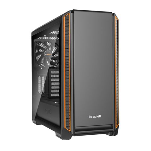 be quiet! Silent Base 601 Naranja con Ventana