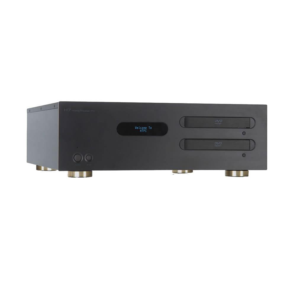 Caja HomePC DIGN HV7SQ Negra con mando distancia. Sin Fuente
