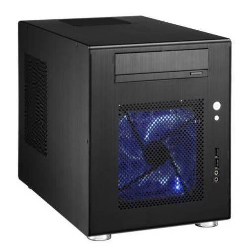 Lian Li PC-Q08B. Negra. Cubo