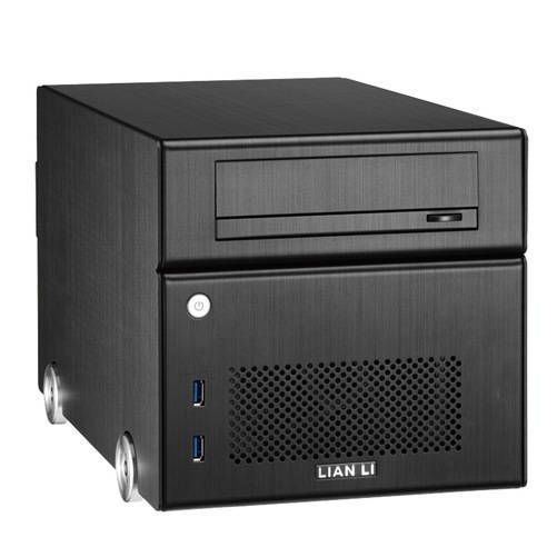 Lian Li PC-Q15B con fuente 300W. Negra. Cubo