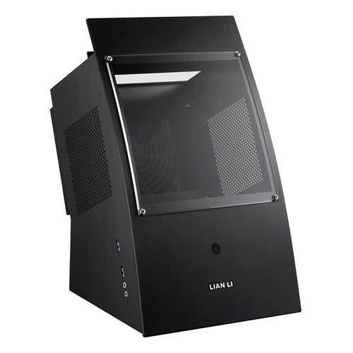 Lian Li PC-Q30X. Negra. Exposicion vertical