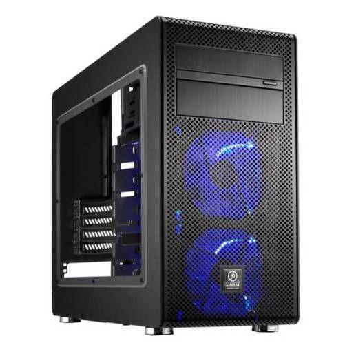 Lian Li PC-V600FX. Negra con Ventana. Micro-ATX