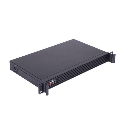 Morex 250B. Rack 1U Negra Mini-ITX sin fuente con I/O universal