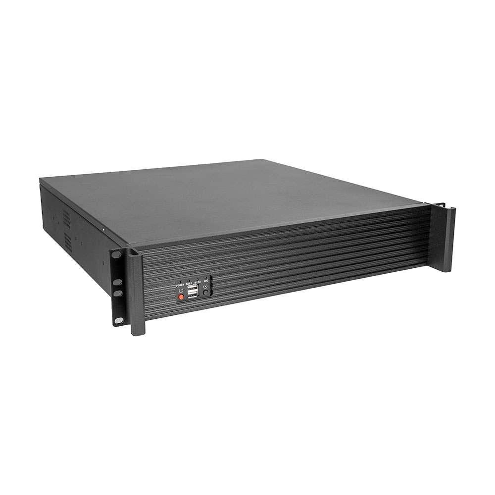 Morex 272. Rack 2U Negra Mini-ITX sin fuente