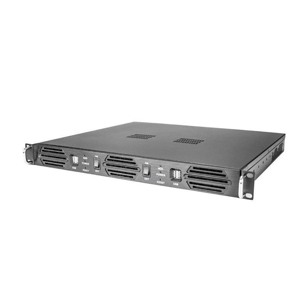 Caja Rack 1U DOS placas Mini-ITX sin fuente
