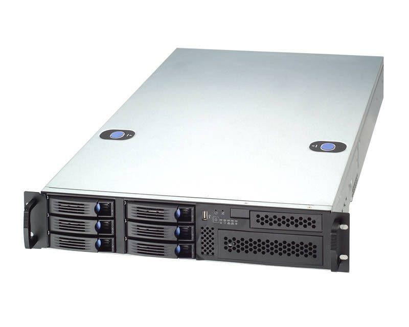 Chenbro RM21706-L Rack 2U con 6 bahías HD hot-swap. Extended-ATX