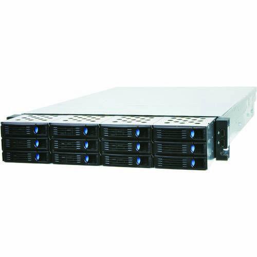 Chenbro RM23512M2-LE Rack 2U con 12 bahías HD hot-swap