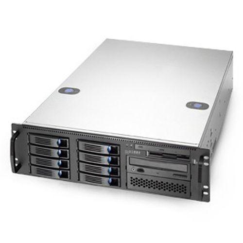 Chenbro RM31408M3-E-U3 Rack 3U con 8 bahías HD hot-swap. Extended-ATX