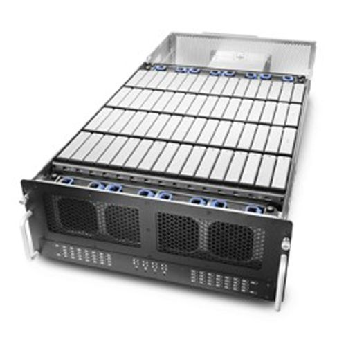 Chenbro JBOB RM43260D3-RB00B Rack 4U con 60 bahías HD con fuente 1100W redundante y 3R. No MB