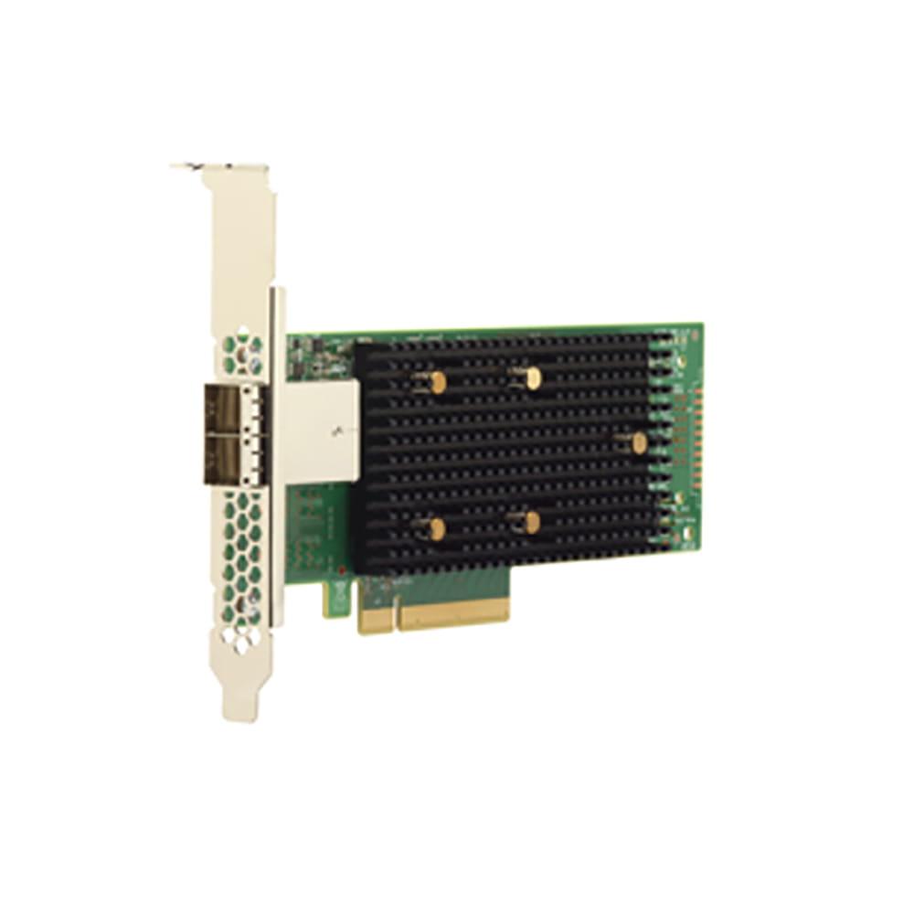 LSI 9400-8e SAS/SATA. 8 Puertos.