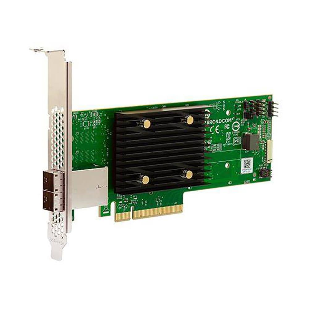 LSI HBA 9500-8e Tri-Mode 8 Puertos SAS/SATA/NVMe