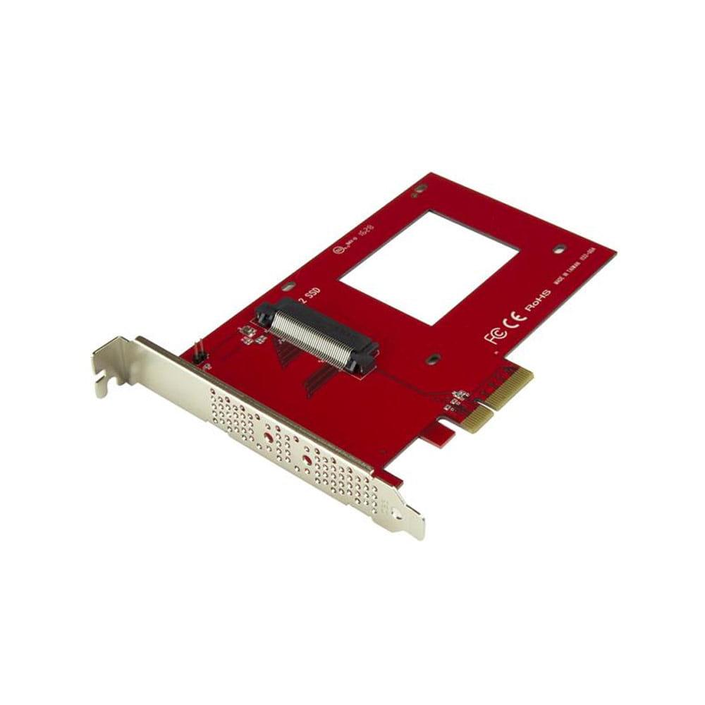 """Startech PEX4SFF8639. Adaptador PCIe x4 a U.2 NVMe SFF8639 de 2.5""""."""