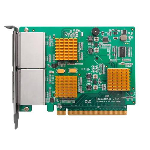 HighPoint RocketRAID 2744 Mini-SAS