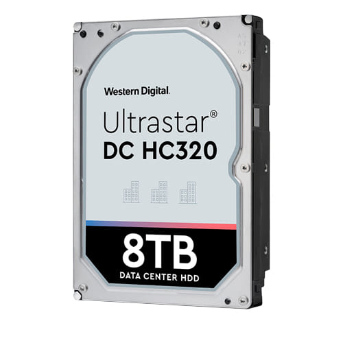 HDD 8Tb Western Digital Ultrastar DC HC320 3.5 SAS 7200rpm