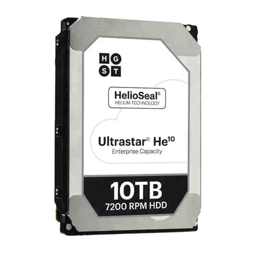 HDD 10Tb Western Digital Ultrastar He10 3.5 SAS. BULK.