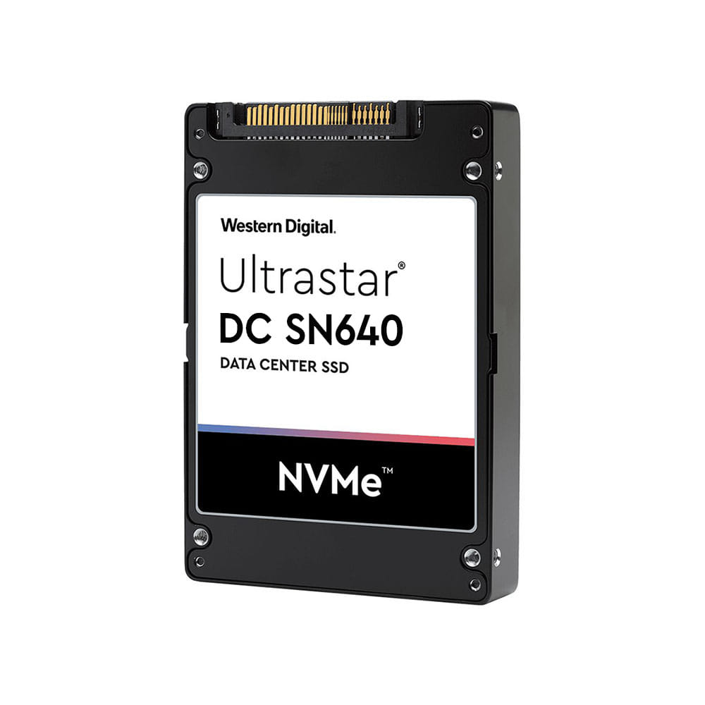 SSD 3.84Tb Western Digital Ultrastar DC SN640 2.5 PCIe / NVMe