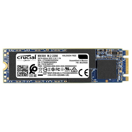 SSD 500Gb Crucial MX500 M.2 Type 2280