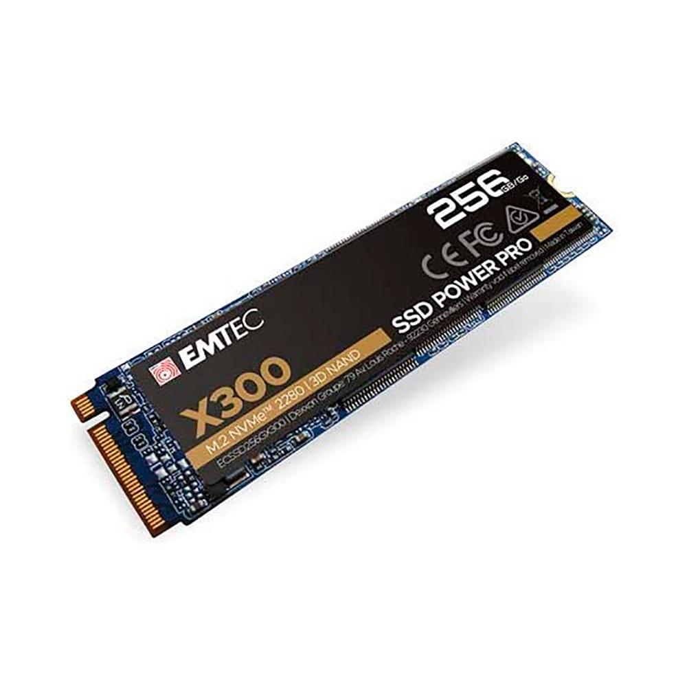 SSD 256Gb Emtec X300 Power Pro NVMe M.2 Type 2280