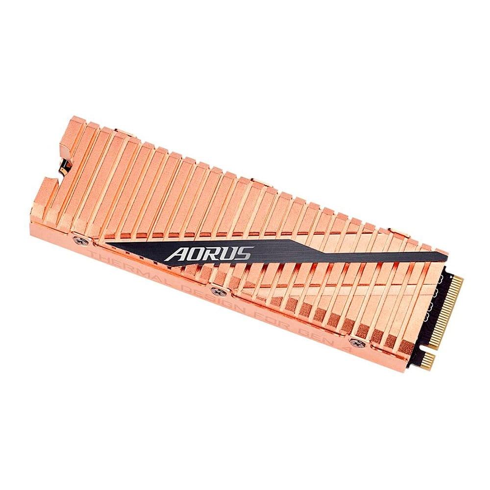 SSD 500Gb Gigabyte Aorus NVMe M.2 Type 2280 con Disipador