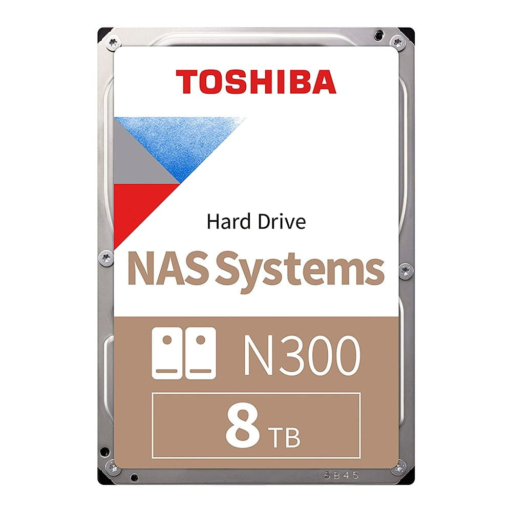 "HDD 8Tb Toshiba N300 3.5"" SATA3 7200rpm 256Mb"