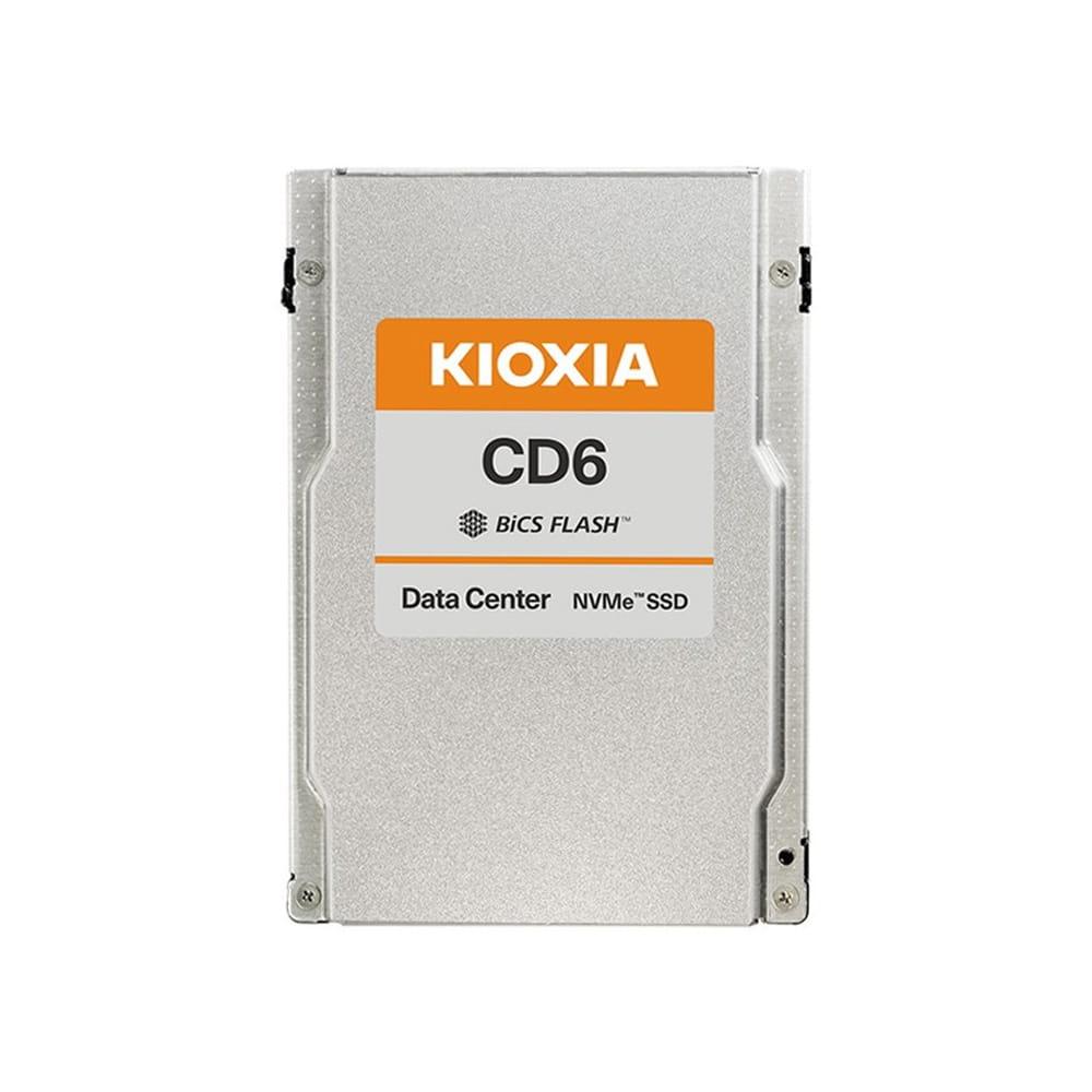 SSD 3.84Tb Kioxia CD6-R 2.5 PCIe/NVMe